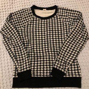 Jcrew houndstooth sweater